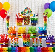 Colorful Party candy