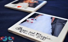 How to make Polaroid Picture Coasters - The Love Nerds