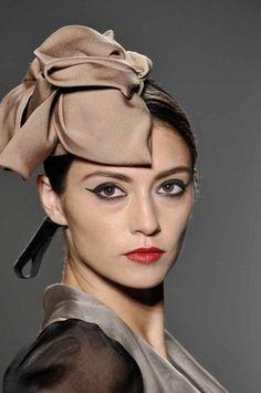 Norisol_Ferrari_Ready to wear  spring_summer 2013_New-York_fashion week september_2012 #millinery #judithm #blockingbuckram