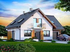Zdjęcie projektu Galilea BIS WOK1065 Best Tiny House, Village Houses, House Made, Pool Houses, Modern House Design, Future House, Bungalow, House Plans, Shed