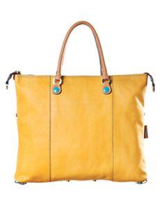 Sunny yellow bags