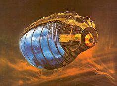 Artist: Chris Foss : Spice Ship : Biographical - https://en.m.wikipedia.org/wiki/Chris_Foss