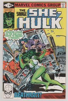 She-Hulk V1 2.  NM. March 1980.  Marvel by RubbersuitStudios #shehulk #comicbooks
