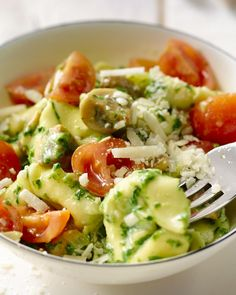 Tortellini with creamy spinach - Tortellini with creamy spinach - Good Healthy Recipes, Veggie Recipes, Healthy Cooking, Pasta Recipes, Vegetarian Recipes, Dinner Recipes, Diet Food To Lose Weight, I Want Food, Weird Food