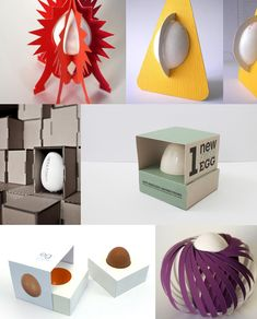 Maria victrix: Originales diseños de packaging de huevos