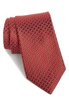 J.Z. Richards Geometric Silk Tie (X-Long)