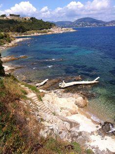 Saint Tropez, sur le sentier du littoral