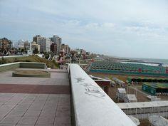 Un a foto del balneario de Mar del Plata, Argentina.