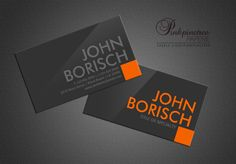 23 best business cards images on pinterest business card templates customize this both side print modern bold grey orange professional business card modern contemporary reheart Choice Image