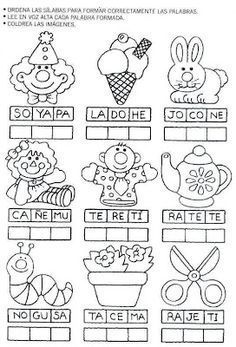 Printing Education For Kids Printer Spanish Lessons For Kids, Spanish Teaching Resources, Spanish Lesson Plans, Learn Spanish, Preschool Learning, Learning Activities, Kindergarten Math, Bilingual Education, Bilingual Classroom