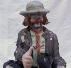 Emmett Kelly Jr. Miniature Hobo Clown by TheEclecticOddyssey, $15.00