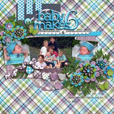 Digital Scrapbook Layout by Tamara | Me Time Kit | Bella Gypsy Designs.