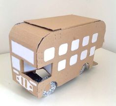 Bus..have some fun on a cold day and make a bus.