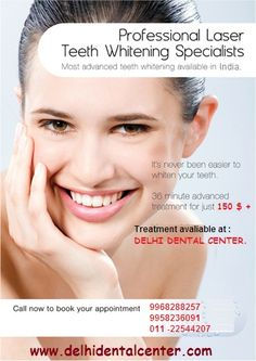 #Tooth_Whitening_Delhi #Tooth_Whitening_India #Laser_Tooth_Whitening_Delhi #Dentist_Delhi #Dentist_India http://goo.gl/wPmR9t