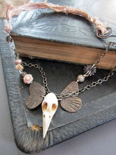 Natures Dark Beauty Necklace by stacilouise on Etsy