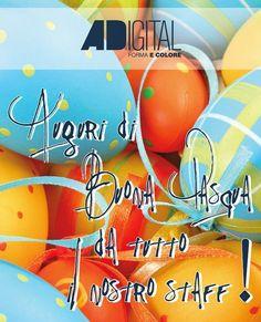 Buona Pasqua!  #buona #pasqua #happy #easter #happyeaster #buonapasqua #ovetti #pasqua2017 #colors #adigital #pesaro