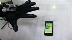 Guante que traduce el lenguaje de señas a escrito