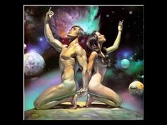 Boris Vallejo is an artist who primarily creates fantasy pieces. He often works with his wife, fellow artist Julie Bell, who also doubles as a model in a lot of Vallejo's work. Boris Vallejo, Tantra, Julie Bell, Feminine Energy, Divine Feminine, Sacred Feminine, Yin Yang, Adam Et Eve, Bell Art