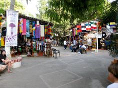 Some people call this the Market Square, But i call it the flea market in old town by the Cuale River. Perfect spot under huge trees! I love this place!!