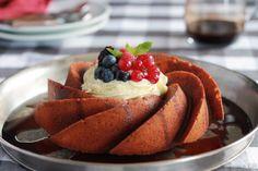 Recetas para navidad: Bund cake de tiramisú con frutos rojos ¡espectacular!