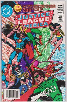 Justice League of America DC Comics #200 Vol1 F+ 6.0