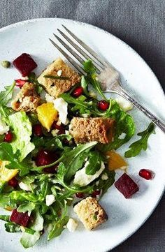 A Simple & Substantial Winter Salad To Make This Weekend via Refinery29