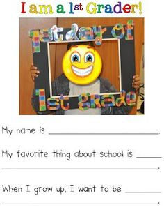 Fun in First Grade: Our First Week Back