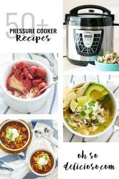50+ Pressure Cooker Recipes