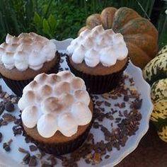 Cupcakes patata dulce con fronting de melcocha