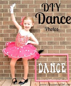 DIY Dance Photos from It Happens in a Blink