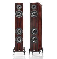 Viena Acoustics Baby Grand loudspeakers.