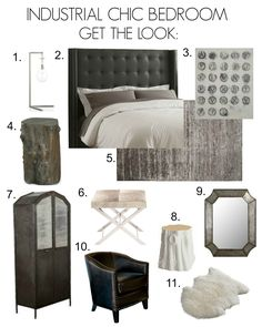 Most Design Ideas Rustic Industrial Bedroom Decor Ideas Pictures, And Inspiration – Modern House Rustic Industrial Bedroom, Industrial Chic, Vintage Industrial, Décor Antique, Shabby Home, Bedroom Photos, Shabby Chic Bedrooms, Cottage, Bedroom Styles