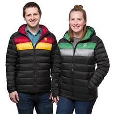 Bundle up this winter Harry Potter style with these Harry Potter House Down Jackets. Not as obvious as a lightning bolt on your forehead, these warm down jackets will still display your Potter fandom to all.