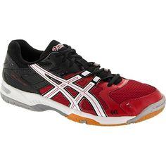 5fe24b9911 Asics Gel Rocket 6 Men - Onyx Black Squash Shoes