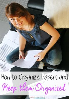 Of all the clutter that ends up in our homes, I think paper clutter can easily take over if it's not managed properly, especially if you have kids.