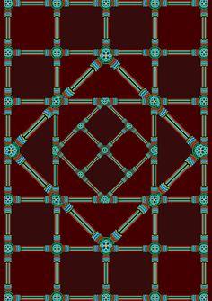 Korean Traditional Pattern Design [단청] on Pantone Canvas Gallery Korean Traditional, Traditional Design, Korean Crafts, Cultural Patterns, Chinese Style, Pattern Design, Mandala, Korean Design, Behance