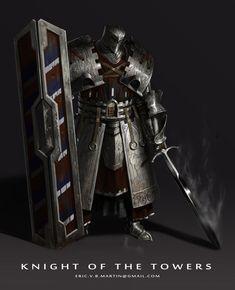 Knight, Eric Martin on ArtStation at https://www.artstation.com/artwork/knight-8e32ebc3-6a0f-4b66-8d08-fea1064119b8