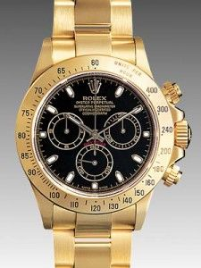 Rolex Daytona All Yellow Gold- love a mens watch for a lady
