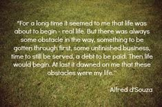 Alfred d'Souza quote