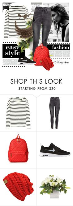 """MessyBun 15030117 - Styling optie #2"" by messybunnl on Polyvore featuring J.Crew, H&M, M Z Wallace and NIKE"