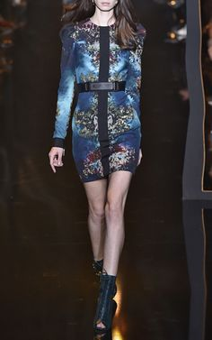 Printed Cady Sheath Dress by Elie Saab for Preorder on Moda Operandi