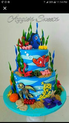 how to make a dory cake