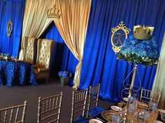 Awesome royal prince baby shower decorations