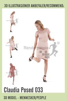modell av kvinne i festklær