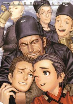 Range Murata, Gonzo, Last Exile, Gale (Last Exile), Dunya Scheer Range Murata, Manga Anime, Old Anime, Character Design Animation, Character Art, Last Exile, After Earth, Japanese Characters, Manga Artist