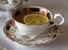 Rose Chintz Cottage: A Pink & Yellow Tea and A Nod to the Titanic for Tea Time