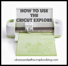 How to Use the Cricut Explore and Design Space!