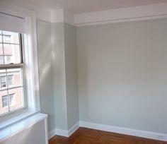 Benjamin Moore Gray Cashmere | Fresh paint (Benjamin Moore's Gray Cashmere)