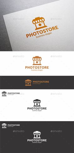 Photo Store / Photo Shop Logo – Simple and clean logo.  --------------------------------------------------------------agency, app, business, camera, clean, creative, digital, e-commerce, e-shop, focus, identity, images, lens, logo, logo design, logo template, logotype, minimal, modern, online editor, online Photoshop, photo, photo editor, photo store, photographer, photography, professional premium logo, shop, snapshot, website logo