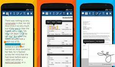 Xodo es un todo en uno para trabajar con documentos PDF en nuestro Android. Nos permite leer, firmar, editar, anotar y compartir los documentos.